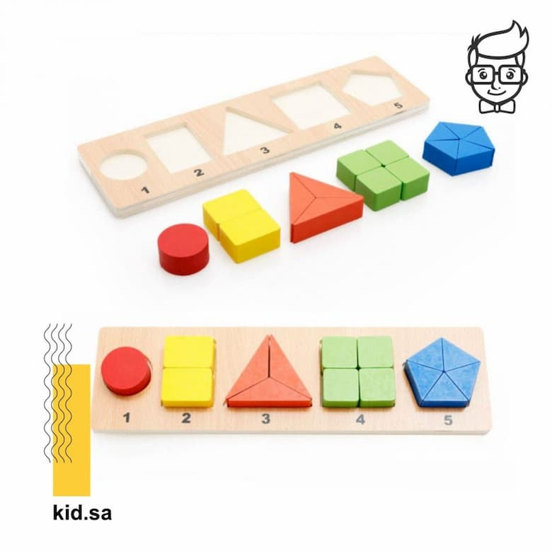 الألعاب الخشبية