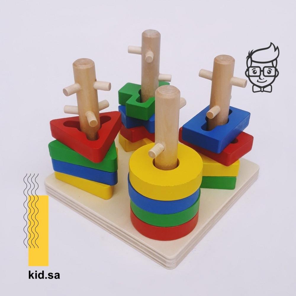 لعبة اشكال هندسية للاطفال