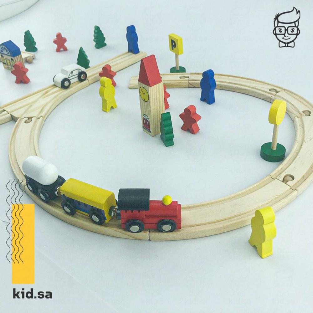 لعبة المدينة والقطار من العاب تعليمية لاطفال اروضة