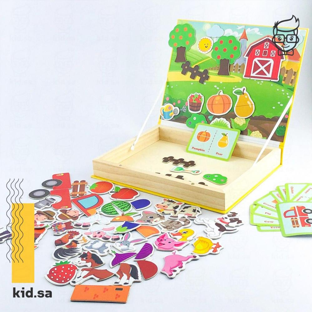 لعبة مغناطيس المزرعة من العاب تعليمية للاطفال