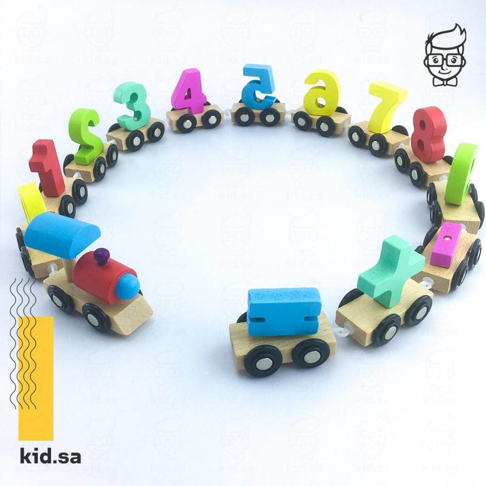 قطار الارقام لعبة تعليم الاطفال الارقام
