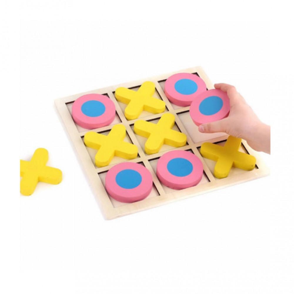 لعبة إكس أو من ألعاب الذكاء والتفكير المنطقي للأطفال