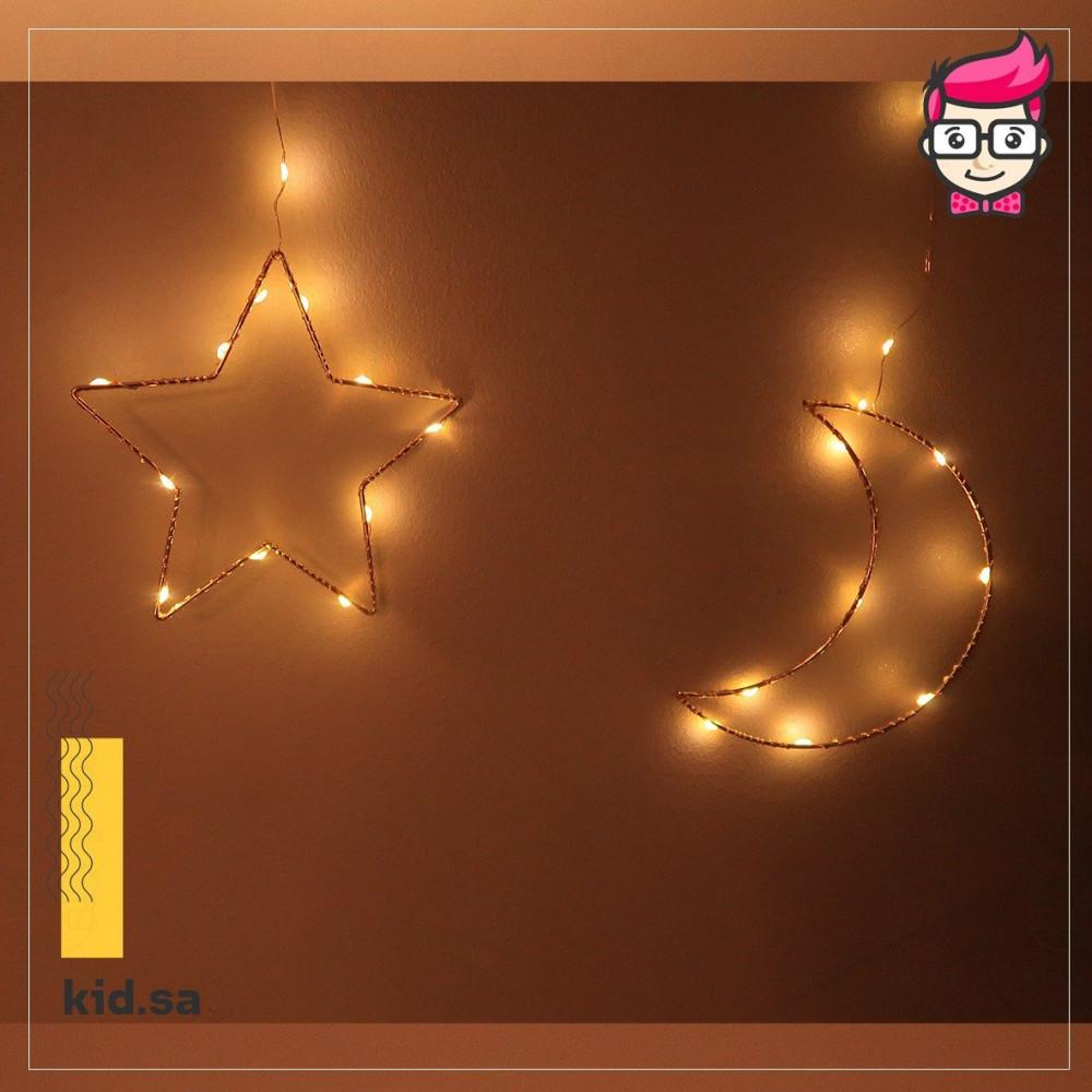 اضاءة-رمضان-نجمة-هلال-2021