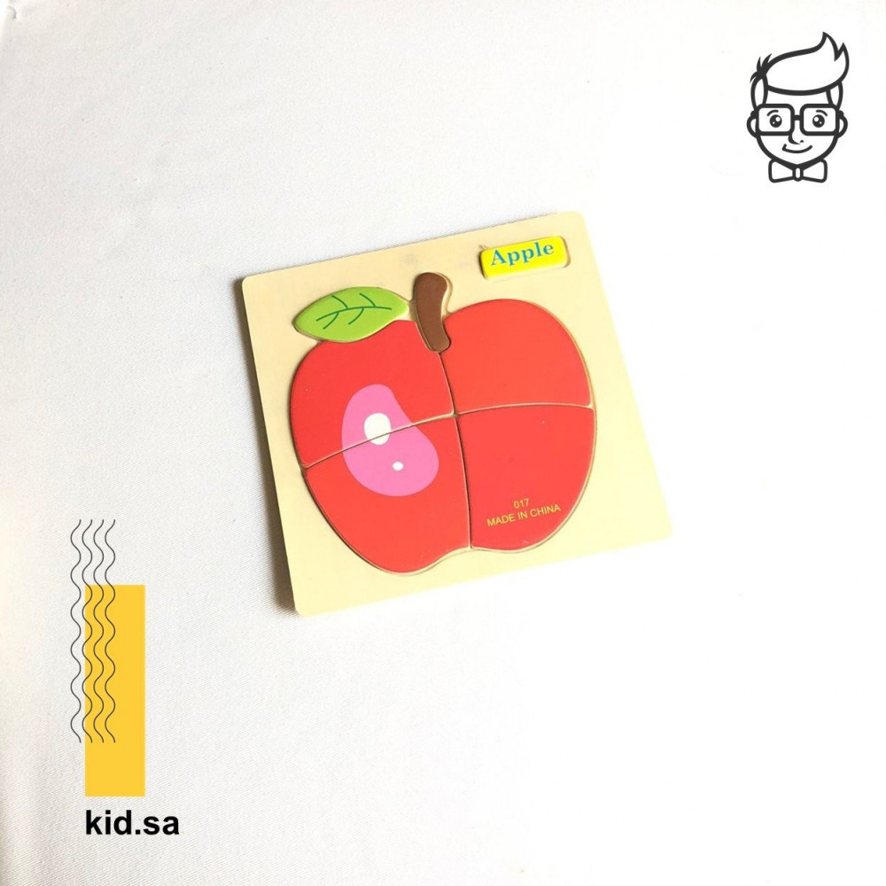 بزل تفاحة العاب لعمر السنتين