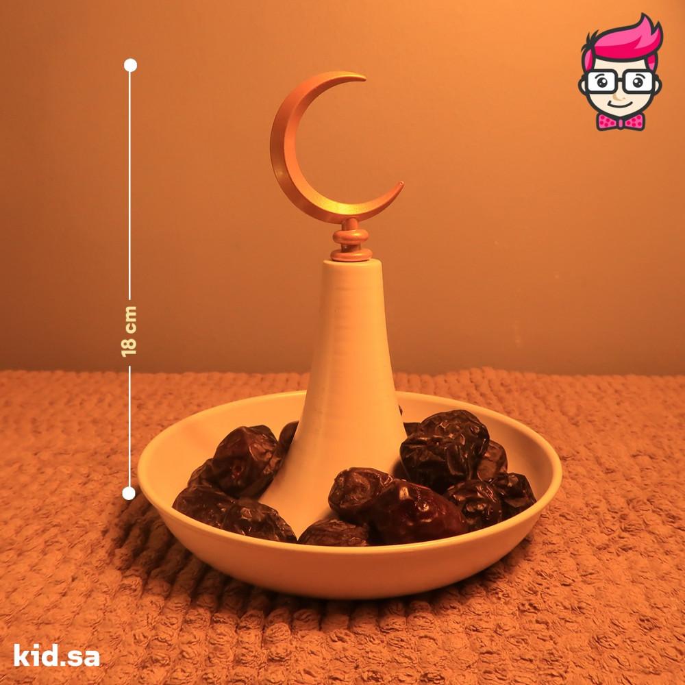 تمرية صحن تمر من اشكال زينة رمضان