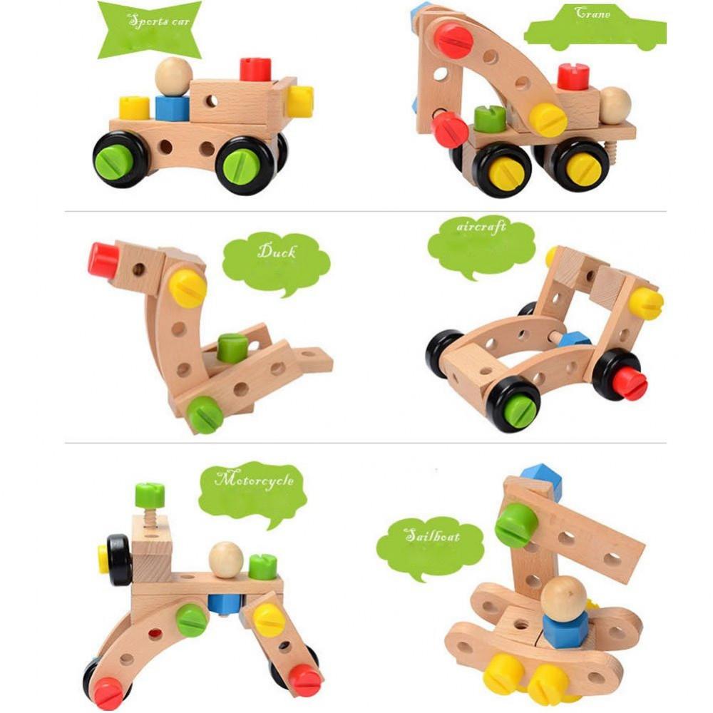 لعبة تصميم النماذج من ألعاب الأطفال التعليمية