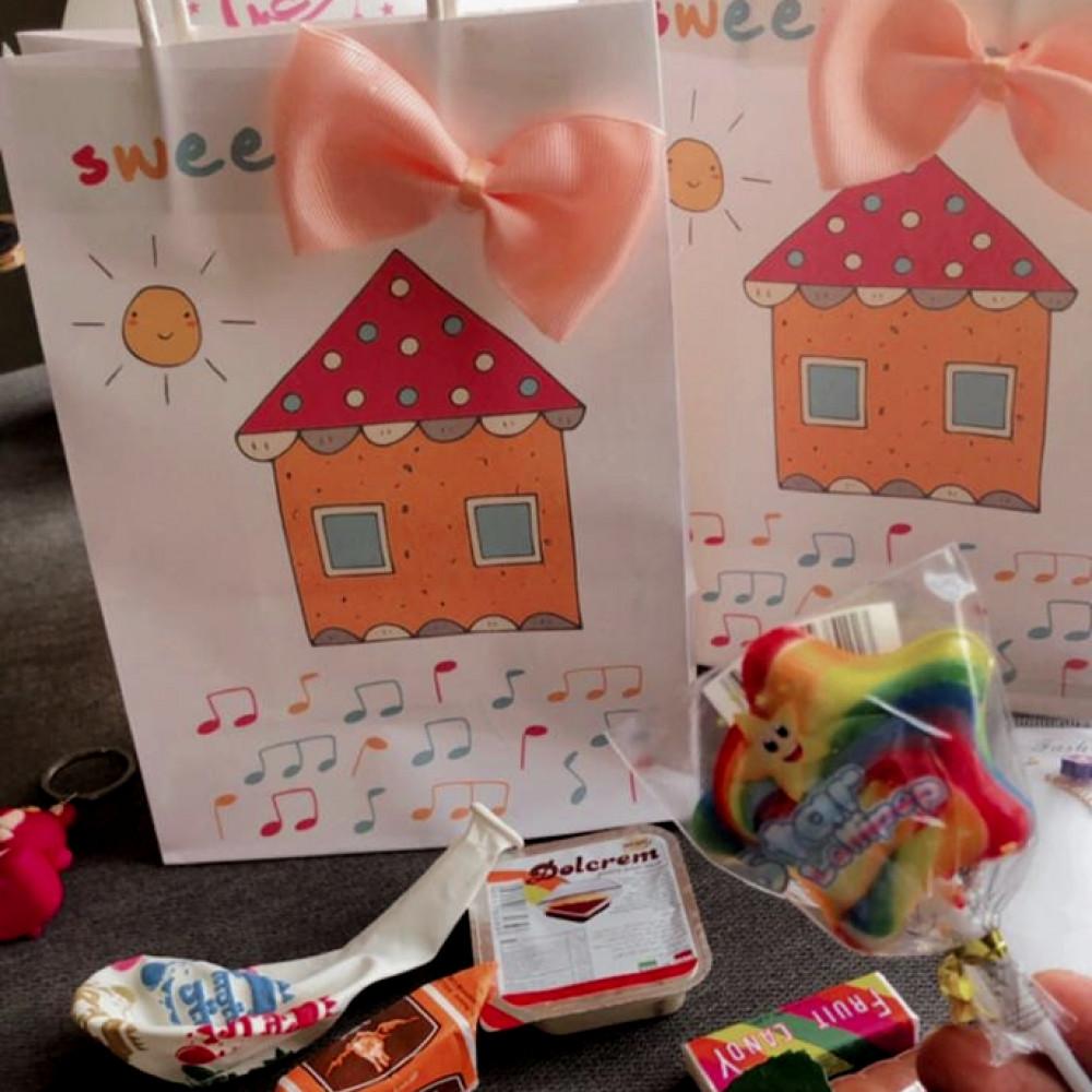 تعبئة توزيعات العيد هدايا العيد للبنات