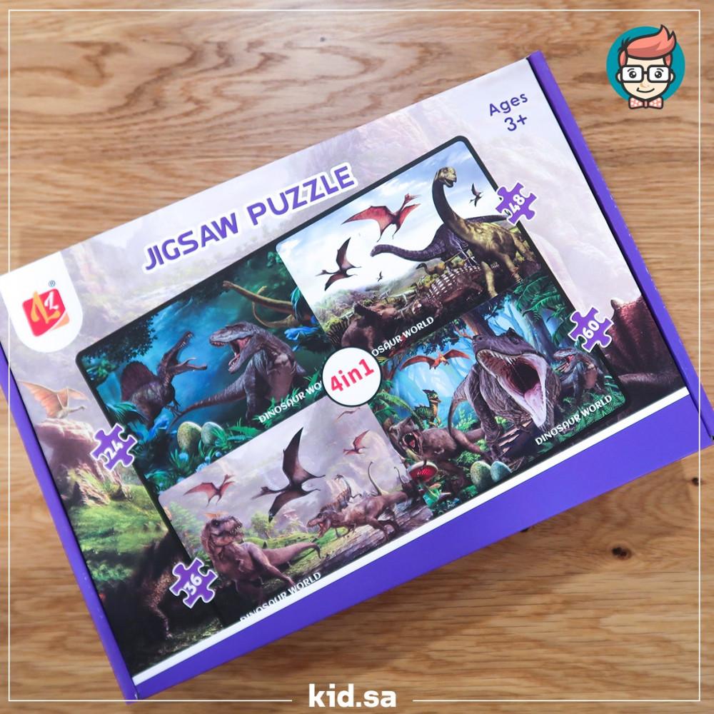 أشكال ألعاب البزل للأطفال