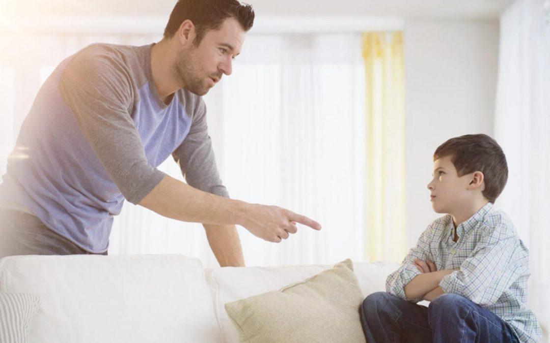 الكيفية الصحيحة لعقاب الطفل المخطئ